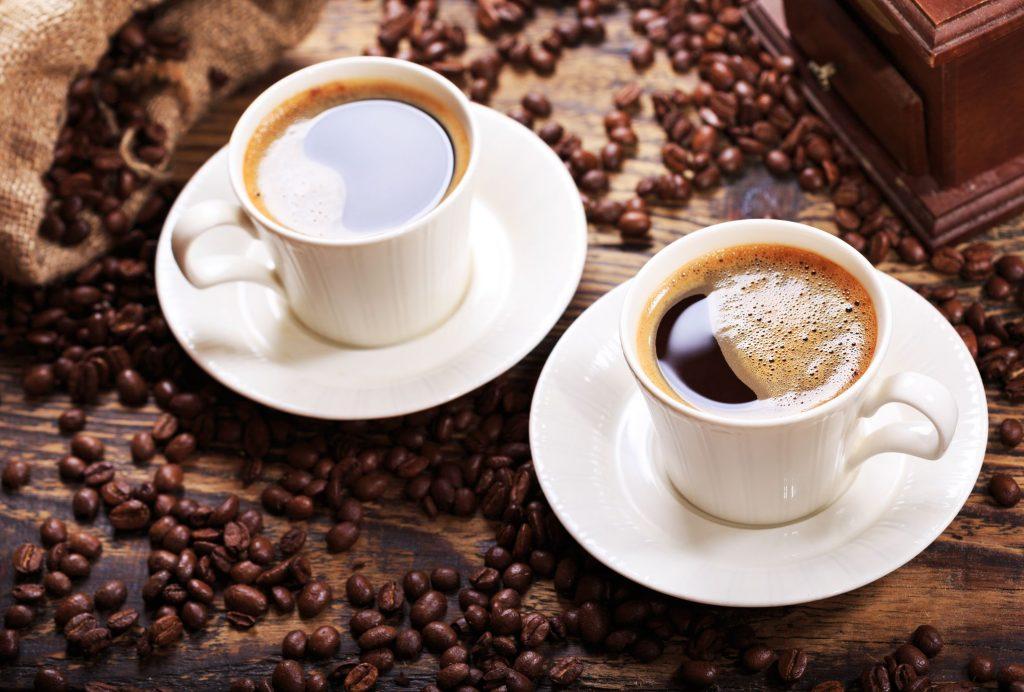 tasses de café.